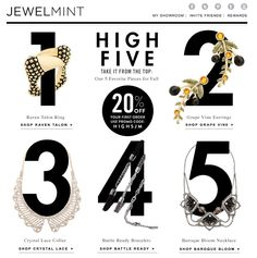 JewelMint High Five Email