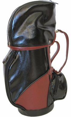 Bella Vita G1 Executive Black Wine Golf Bag by Bella Vita. $39.99. Lined with rich black satin interior. Multiple zippered storage compartments. Mini replica of a golf bag, designed to hold 1 bottle of wine or champagne. Hot Golf item. Miniature golf bag replica made of faux leather. Single bottle product with multiple zippered storage compartments great for adding wine charms, stoppers and so much more. The golfer in your life will love this bag.