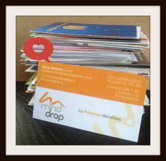 Le recyclage des cartes d'affaires au secours de vos listes!