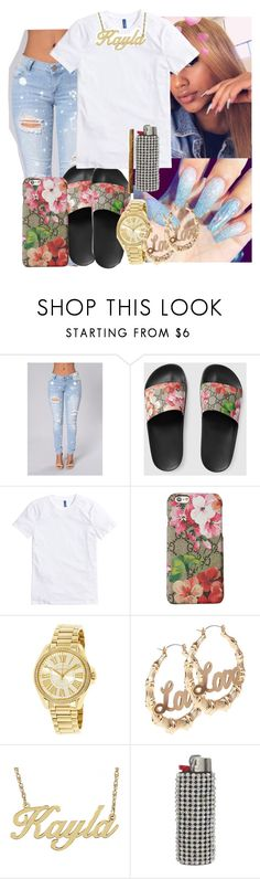 """""""$"""" by kashharmonii ❤ liked on Polyvore featuring Gucci, Michael Kors and Alison & Ivy"""