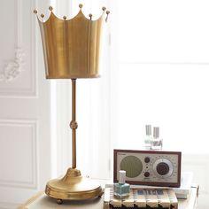 The Emily & Meritt Crown Lamp