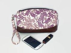 Clutch Bag, Zipper Pouch, Wristlet, Purse, Makeup Bag, Evening Bag
