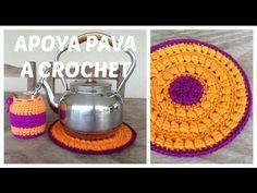 Como vestir frascos de crochet o ganchillo - YouTube