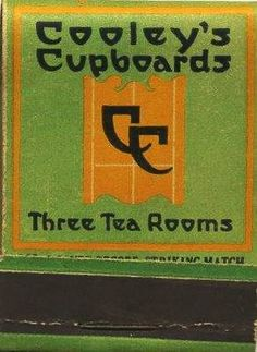 Cooley's Cupboards Matchbook-Evanston