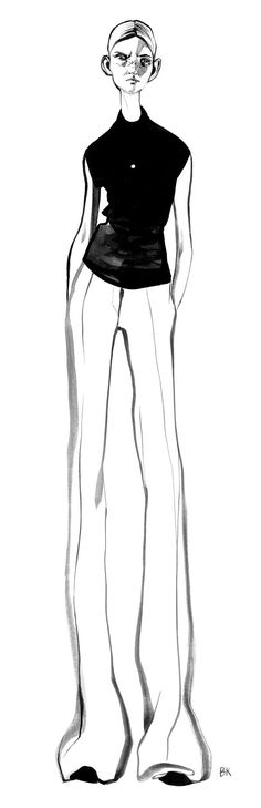 Celine Sketches on Behance
