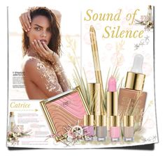 """""""Catrice: Sound of silence"""" by lilly-2711 ❤ liked on Polyvore featuring beauty, Beauty, makeup, summermakeup and catrice"""