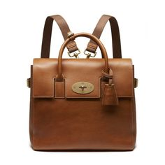 Mulberry Style Signatures - Cara Delevingne Bag in Oak Natural Leather