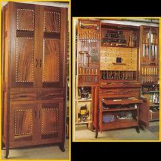 L'idéal : créer un meuble qui fasse à lui seul l'activité entière, et qui la contienne entière une fois fermé. Pour un déménagement, il suffirait de fermer le meuble solidement et de le déplacer. https://www.facebook.com/photo.php?fbid=715324221932811