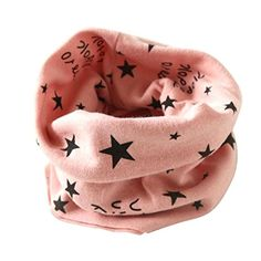 Headband,LAIMENG,Autumn Winter Boys Girls Collar Baby Scarf Cotton O Ring Neck Scarves (Pink) -- Awesome products selected by Anna Churchill