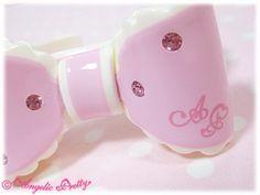 Angelic Pretty: 2011 Dream Ribbon Bangle in pink