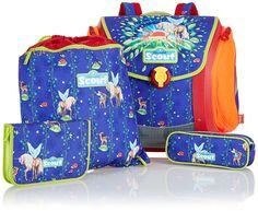 Scout Schulranzen-Set Basic Mega Set 4 tlg Sunrise 97 cm Blau 70400750500: Amazon.de: Koffer, Rucksäcke & Taschen