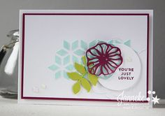 Stampin' Up! – You're just lovely #GDP093