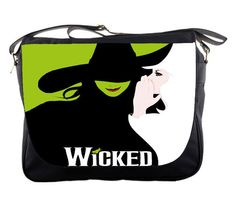 Messenger Bag – WICKED New Musical Broadway Witches of OZ Custom Messenger Sling School Bag Notebook Laptop Campus, School Bag on Etsy, $27.00
