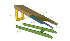 This step by step diy woodworking project is about how to build a dog ramp. If you want to learn more about building a dog ramp, we recommend you to pay attention to the instructions described in the article. Dog Ramp For Bed, Pet Ramp, Ramp Stairs, Dog Stairs, Dog Training Classes, Training Your Dog, Diy Holz, Outdoor Dog, Dog Park