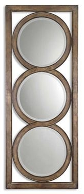Uttermost Isandro Metal Silver Mirror