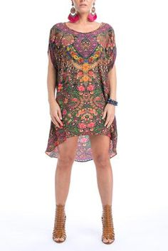 Designer Kaftans Online In Australia Silk Kaftan, Short Sleeve Dresses, Dresses With Sleeves, Curves, Tunic Tops, Shopping, Collection, Design, Rosario