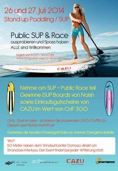 Mach mit und gewinne SUP Boards sowie Einkaufsgutscheine von CAZU!