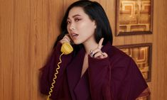 Awkwafina: 'I was always the crazy one, the funny one. Bridal Make Up Inspiration, Oceans 8, Sandra Oh, Female Faces, Asian American, Photo Series, Elle Fanning, Music Mix, Sandra Bullock