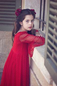 aaa5f979b769 Boho-chic Girls Dress, Girls Valentine's Red Dress, Girls Christmas Lace  Dress, Twirly Christmas Dress, Holiday Dress, Christmas Party Dress