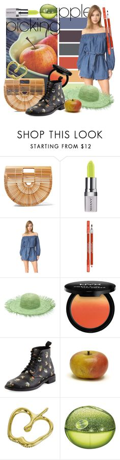 """""""Lolita"""" by alejandra-soraires ❤ liked on Polyvore featuring Cult Gaia, Shany, Free People, Lancôme, Sensi Studio, NYX, Yves Saint Laurent, Tiffany & Co. and DKNY"""