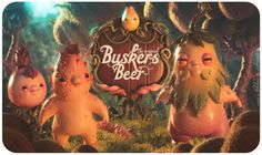 Buskers Beers 2 by Felideus Bubastis, via Behance
