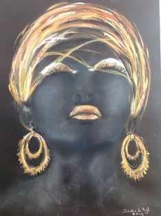 It is all gold what is blinking. Pastel Paintings, Dreadlocks, Hair Styles, Gold, Beauty, Shop Signs, Beleza, Dreads, Hair Looks