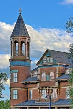 Fairlawn Mansion in Superior, Wisconsin.  My father-in-law lived here with his 9 other siblings.