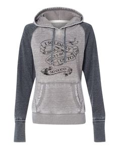 d5c92edaf82c Harry Potter quote I solemnly swear i am up to no good super soft hoodie  sweatshirt kangaroo pockets ladies girls (s