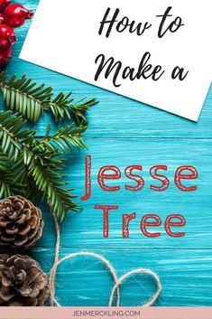 How to make a Jesse Tree! Countdown to Christmas with a Jesse Tree! Celebrate Advent with symbolic ornaments connected to daily scripture readings--start a new family tradition! Christmas Books For Kids, Merry Christmas, Christmas Activities, Christmas Countdown, All Things Christmas, Simple Christmas, Christmas Holidays, Christmas Crafts, Christmas Ideas