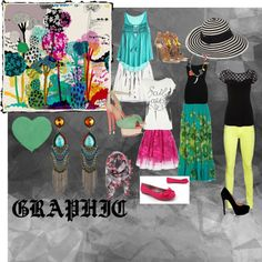 Graphic Inspiration, created by elisakinney.polyvore.com