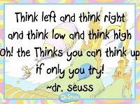 One of my favorites from Dr. Seuss