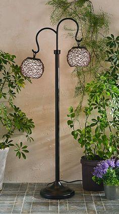 Kenroy Home Castillo Outdoor Floor Lamp, Bronze Finish Outdoor Floor Lamps, Outdoor Flooring, Bronze Floor Lamp, Floor Finishes, Detailed Image, Bronze Finish, Home Appliances, Bulb, Porch