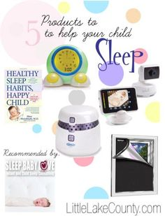 5 Products to help your Baby Sleep from a sleep consultant #sleep #baby #toddler #products | best products | www.sleepbabylove.com