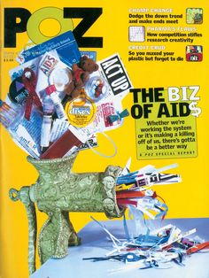 POZ magazine April Dealing with AIDS—and AIDS Inc.—isn't fun and games. Here's a practice round for the real thing. Hiv Aids, Magazine, Games, Cover, Creative, Fun, Plays, Warehouse, Gaming