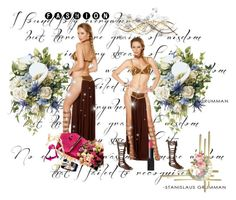 Sexy slave costume for you by chenzoe on Polyvore featuring Steve Madden and more on www.dear-lover.com