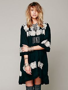 New Romantics Doll Face Peasant Dress at Free People Clothing Boutique