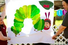 Very Hungry Caterpillar party. Such a cute idea!!
