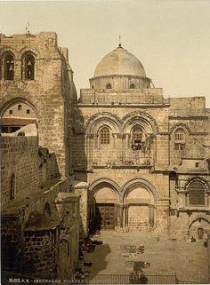 Church of the Holy Sepulcher Jerusalem