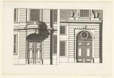Twee portes-cochères, Daniël Marot (I), 1673 - 1752