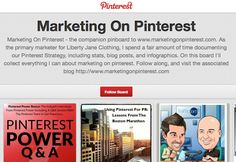 Pinterest marketing tip - blogs and podcasts to help you with your Pinterest marketing