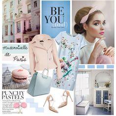 Mademoiselle De Paris by marina-volaric on Polyvore featuring мода, Karen Millen and Bionda Castana