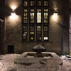 The Indiana Memorial Union In Winter Any Question As To Why This Is One Of