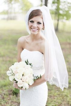Country bride. Photo by Feather & Twine Photography. www.wedsociety.com #wedding #beauty