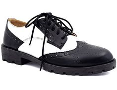 MaxMuxun Black White Cut Out Lace Up Brogue Dressy Block ... https://www.amazon.com/dp/B01M0SDWR2/ref=cm_sw_r_pi_dp_x_a4VuybJAXTTAE