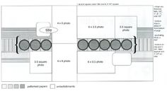 Allison Davis double layout, sketch, 2 page, 6 photo