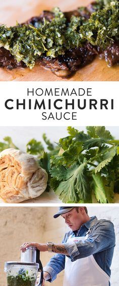 Learn how to make delicious chimichurri sauce that you'll want to use in all of your summer grilling dishes.