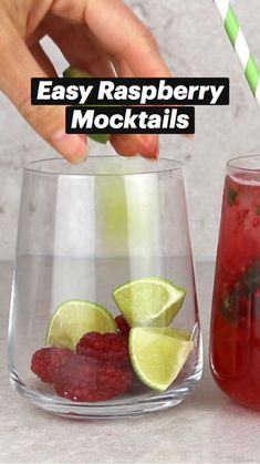 Kid Cocktails Non Alcoholic, Nonalcoholic Summer Drinks, Best Mocktails, Healthy Alcoholic Drinks, Diy Party Drinks, Fun Drinks, Yummy Drinks, Beverages, Juice Smoothie