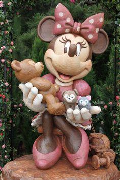 Cute Minnie and Duffy! Disney World Secrets, Disney World Resorts, Walt Disney World, Disney Nerd, Disney Fun, Disney Events, Duffy The Disney Bear, Disney Images, Tokyo Disneyland