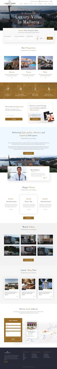 Check out fm Y's new web page design from Web Design, Page Design, House Design, Luxury Villa, Service Design, Website, Marcel, Colors, Design Web