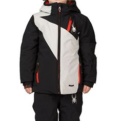 Spyder Boys Mini Enforcer Jacket 4 BlackCirrusCirrus *** Click image for more details.